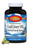 Norwegian Cod Liver Oil (1000 mg, 150 soft gels)