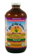 Preservative Free Whole Leaf Aloe Vera Juice (32 oz)