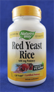 Red Yeast Rice (600 mg, 120 vegetarian capsules)
